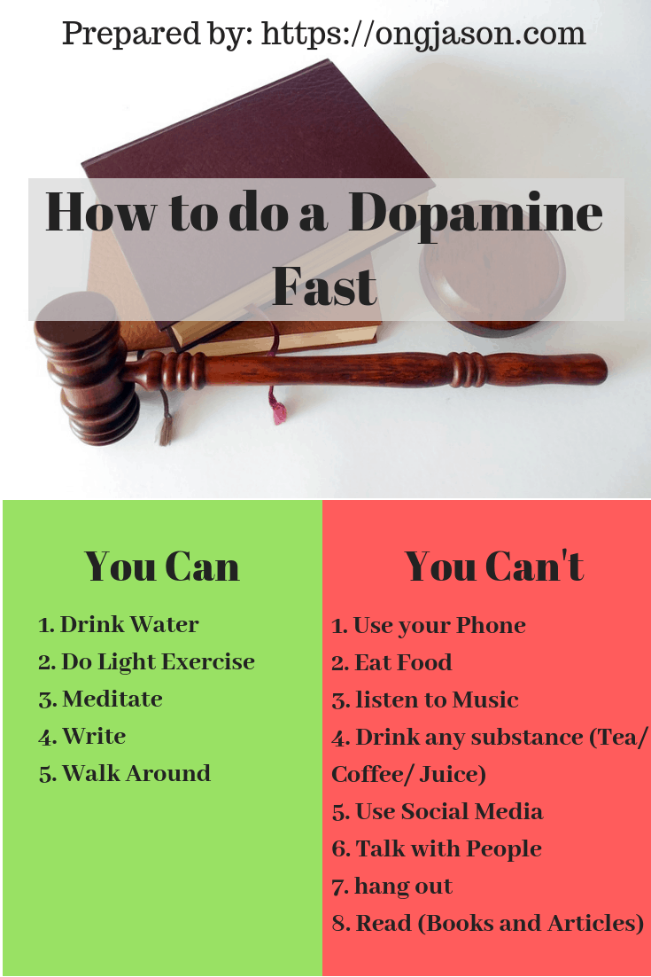 How to do a Dopamine Fast