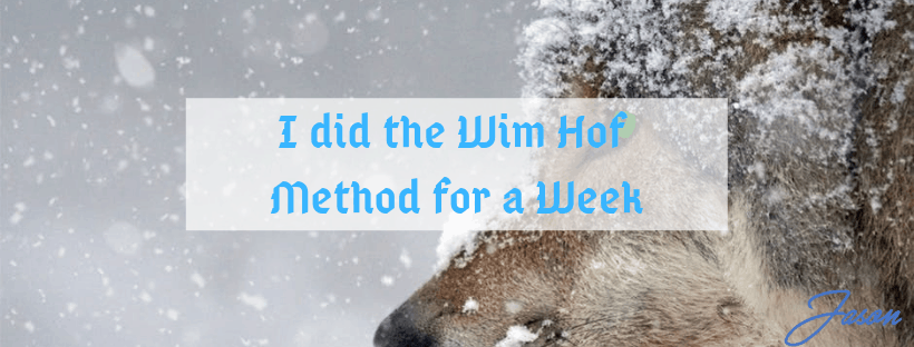 I did the Wim Hof Method for a Week
