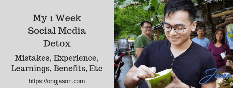 Everything You Need to Know About Social Media Detox and My Experience