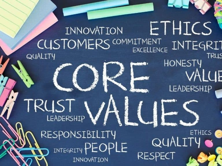 The Importance of Having Clear Values