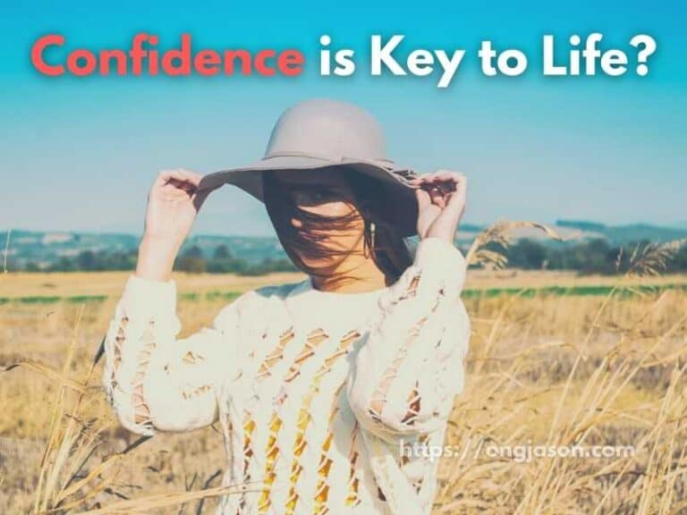 Confidence: Why is it the Key to Life?