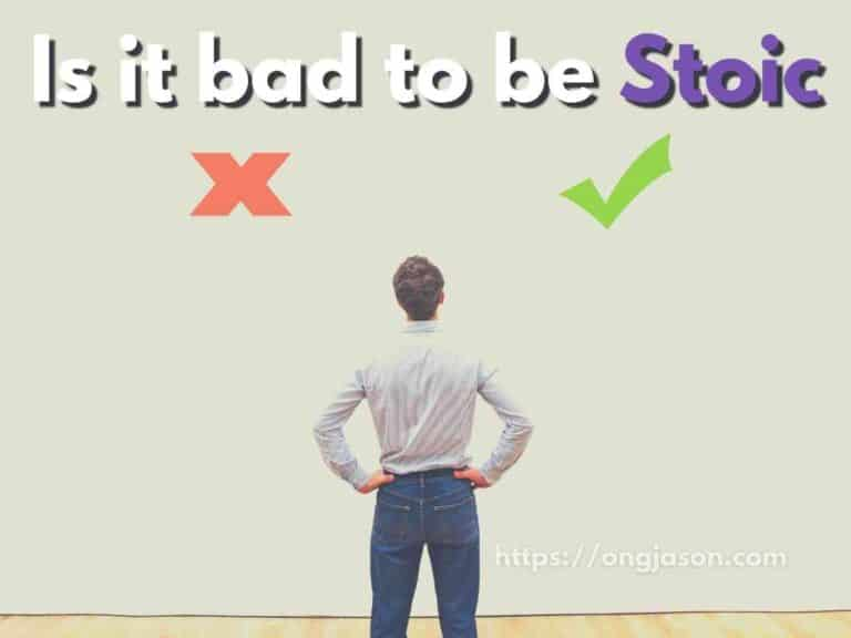 Stoicism: Is it bad to be too Stoic?